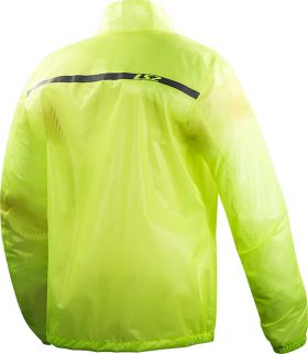IMPERMEABLE LS2 COMMUTER MUJER AMARILLO FLUO